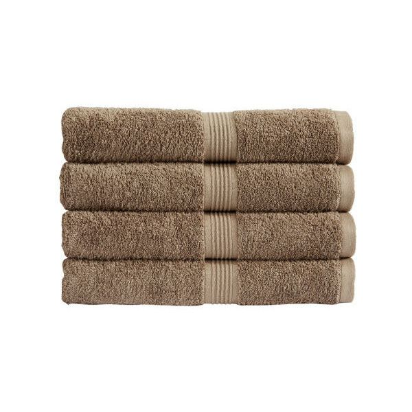Christy Verona Towel - Hessian ($2.27) ❤ liked on Polyvore featuring home, bed & bath, bath, bath towels, fillers, plush bath towels and christy bath towels