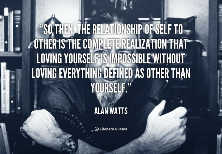 So then, the relationship of self to other is the complete realization ...