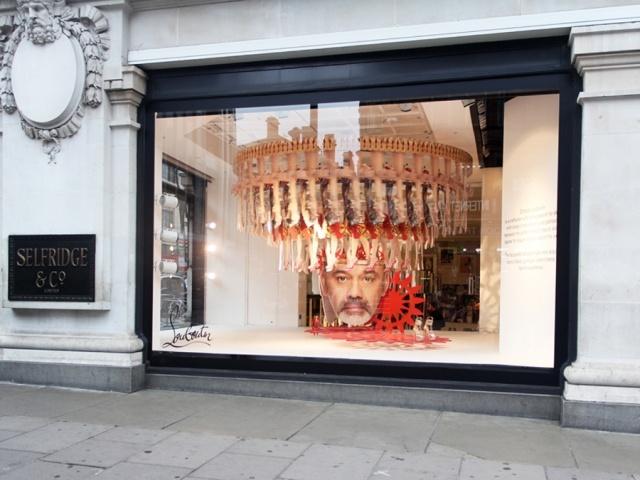 Christian Louboutin Window Display by Studio XAG @ Selfridges