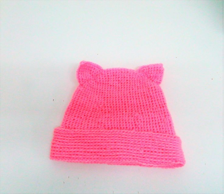 Pink Pussyhat, Pussycat Hat, Pink Pussy Hats, Pussyhat Movement, Pussy Cat Hat, Cat Ear Hat, cat beanie,  feminist hat, cat lover gift, cats by AlsCraftyCorner on Etsy