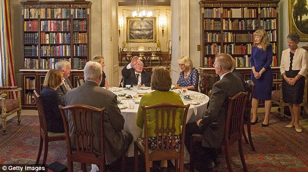 9/6/16*The veterans pictured with the Duchess enjoyed an afternoon tea at Clarence House