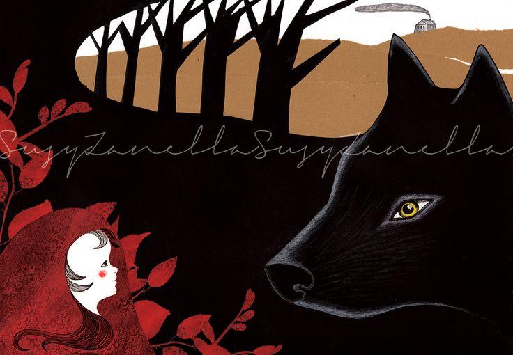 Cappuccetto Rosso - Susy Zanella www.assurdemeraviglie.it