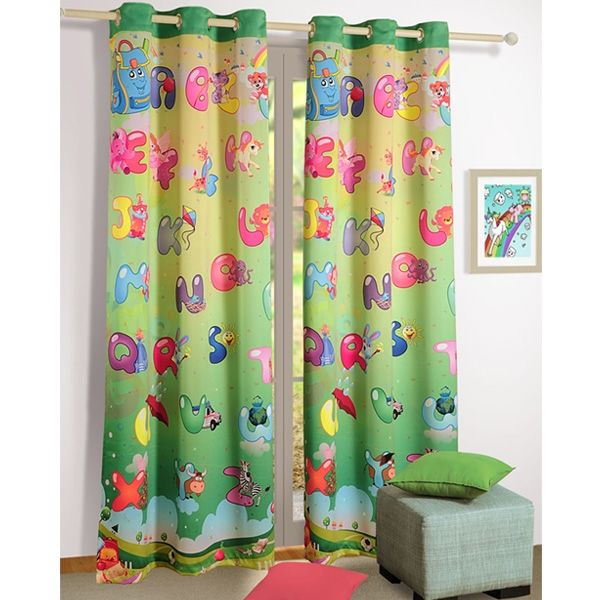 alpha kids curtains make it a learning experience for your childs