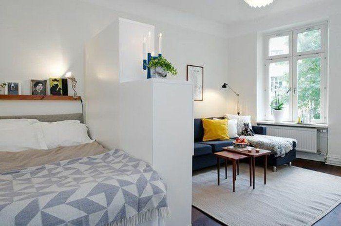 Kleines Wohn Schlafzimmer Einrichten