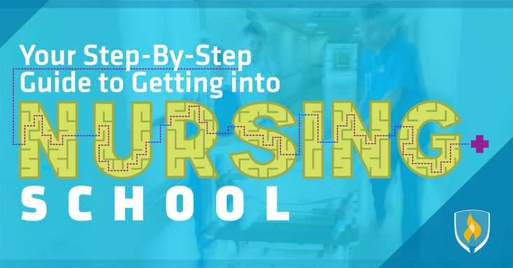 Where should you start to get into #nursing #school? Our step-by-step guide covers requirements, preparation and resume building!  #nurses