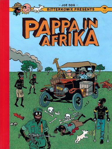 Anton Kannemeyer - bitterkomix - papa in Afrika