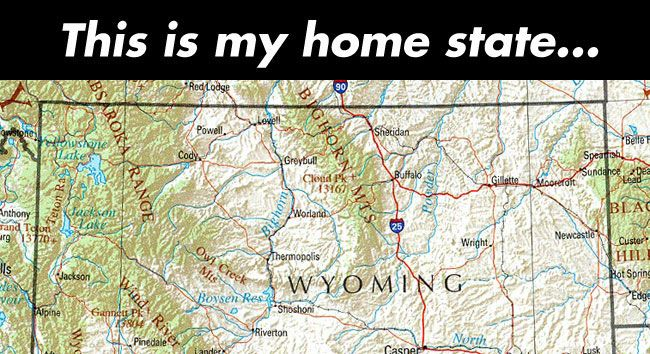 cool-Wyoming-map-home-state
