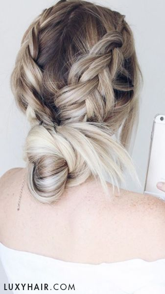 #Pinterest inspired hairstyles done by the beautiful and talented hair goddess @alexgaboury
