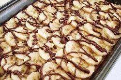 Tvarohové pokušení s banány