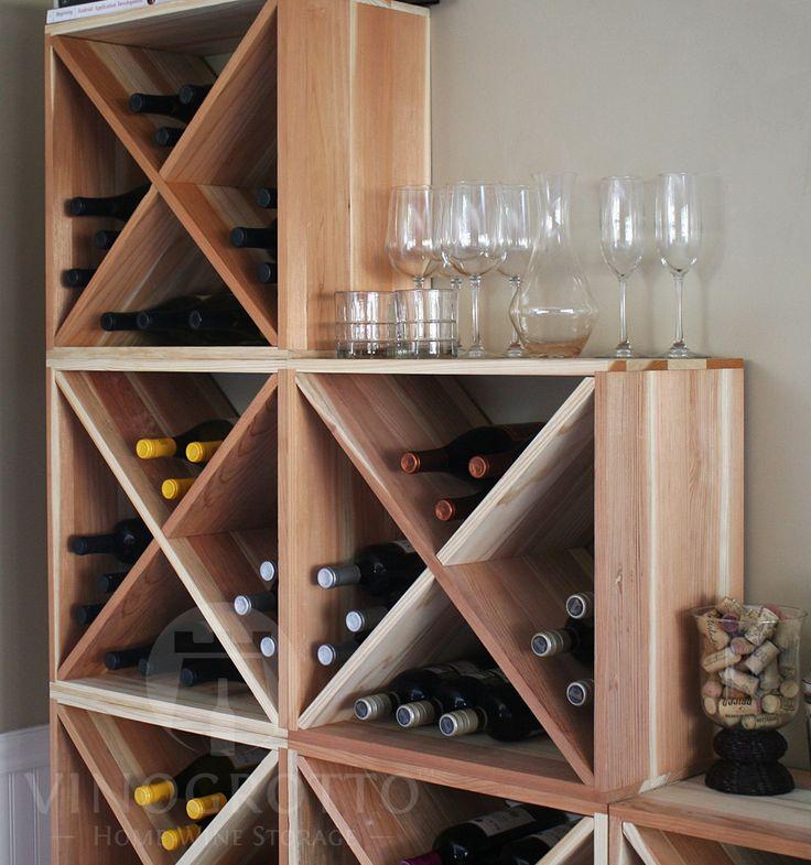 VinoGrotto 24 Bottle Wine Cube