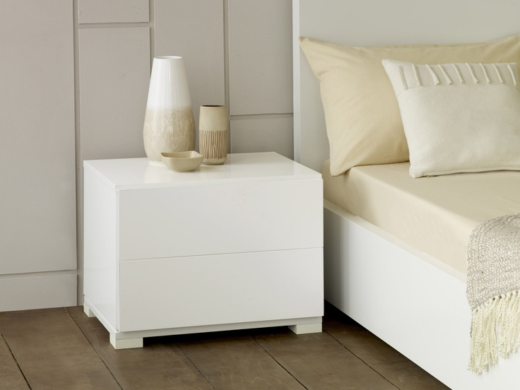 The 2 drawer nightstand will complement any of our beds perfectly as it made from the same material and built using the same manufacturing process as all of our other furniture.