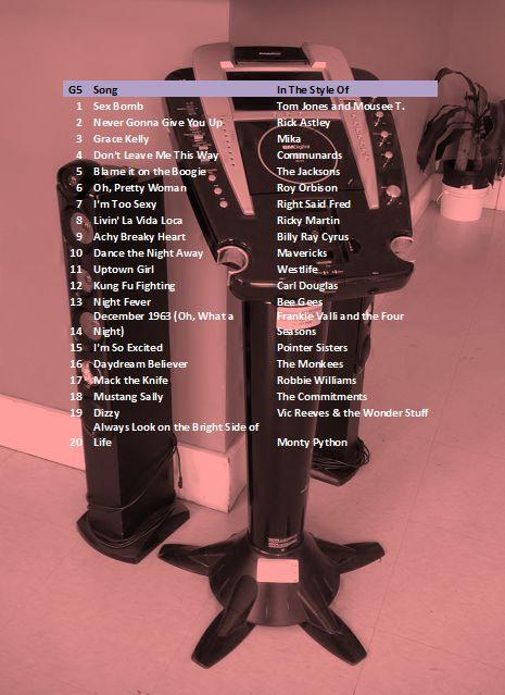 karaoke PARTY CD5