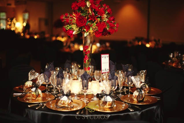 Gold And Black Wedding Ideas: 1000+ Images About Red Black And Gold Wedding Theme On