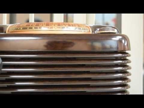 *American*Radio*Design* - Greg Mercurio - Deco-Mid Century, Retro Styled Vintage Tube Radios   : PHILCO Mid Century (1949) Tube Radio Model 49-900 ...