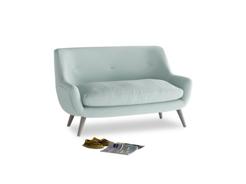 Our Berlin sofa was inspired by a vintage piece. We love its solid oak legs & retro feel. It's ridiculously comfy & handmade by our skilled team in Britain.