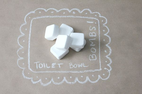 Literally the most fun you'll ever have cleaning a toilet. Toilet Bowl Bombs! They're fun & easy to use + they leave your bathroom smelling like a field of flowers. Love!