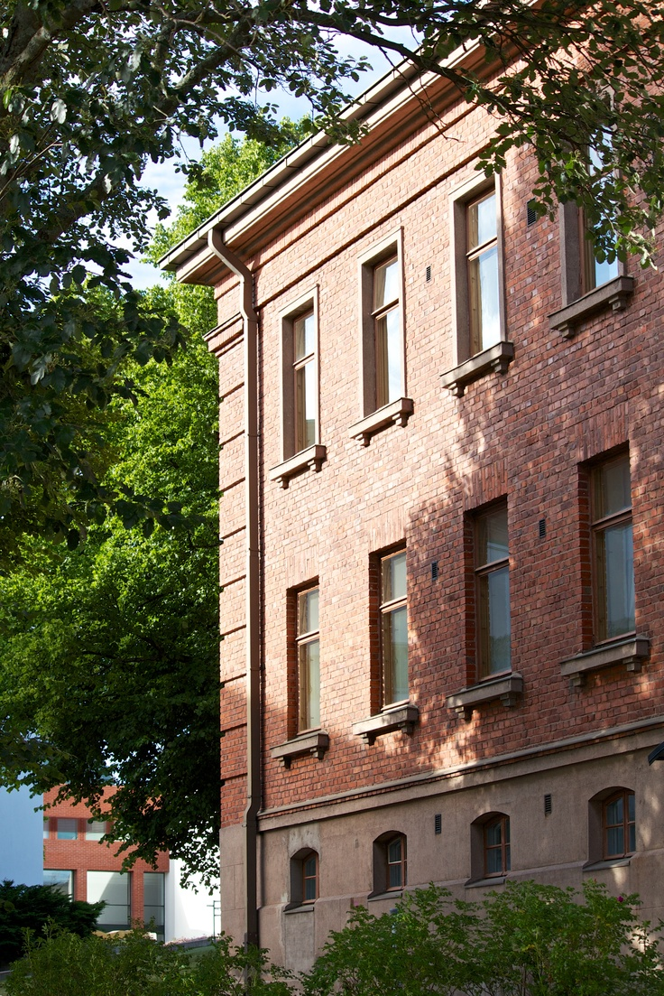 University of Vaasa / Konttori office building. #univaasa