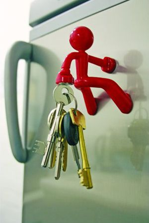 Key Pete Magnetic Holder, maybe I wouldn't lost my keys all the time!
