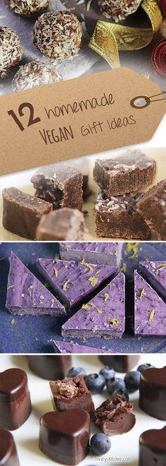 Homemade Vegan Edible Gift Ideas from Trinity's Kitchen... #vegan #festive #holidays #veganrecipes #glutenfree