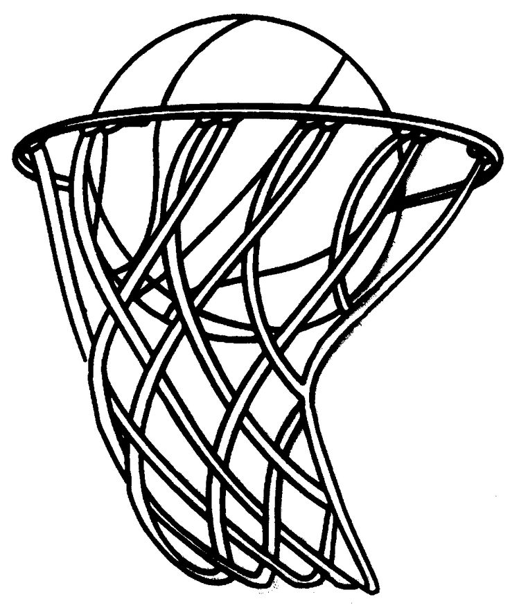 25 Best Ideas About Basketball Clipart On Pinterest Basketball Coloring Page