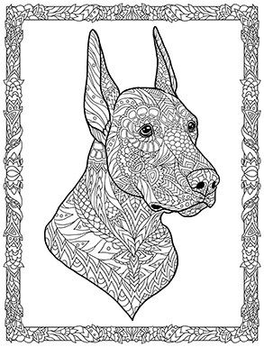 Doodle Dogs Coloring Book for Adults by Amanda Neel | Cats ...