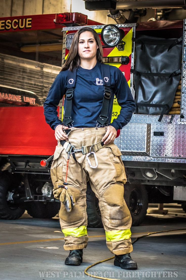 Ashley Schnitzler, West Palm Beach Firefighter | Shared by LION