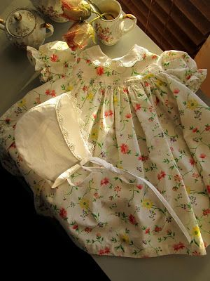Romantic History: Vintage Baby Dress Giveaway