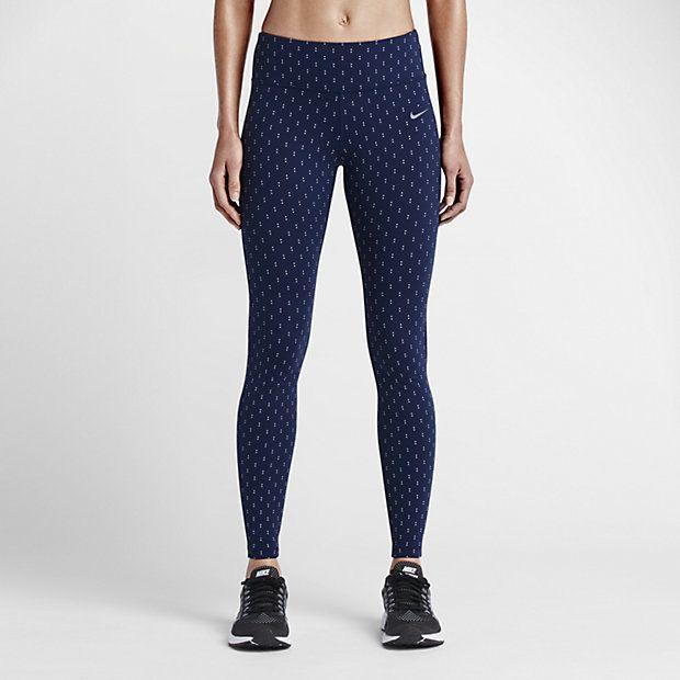 Nike Legendary Checker Tight Women's Training Pants - Shop for women's Pants  - Cargo Khaki/Black/Black Pants
