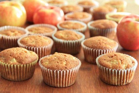 Apple Banana Muffins