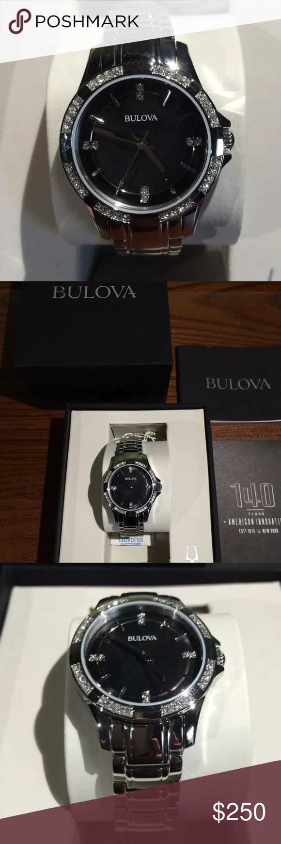 Unisex crystal bulova watch! Brand new! Unisex crystal bulova watch! Brand new in box! Accessories Watches