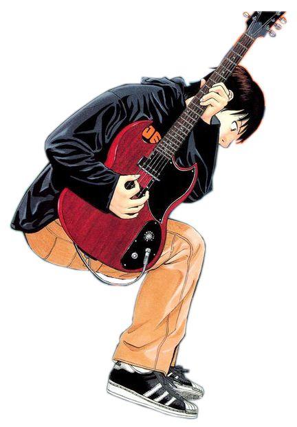 Render Animes et Manga - Renders beck musique guitare