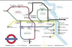 Hellish commute? Check out this Greek underworld tube map – Now. Here. This. – Time Out London