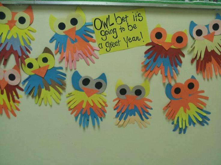 Preschool owls.