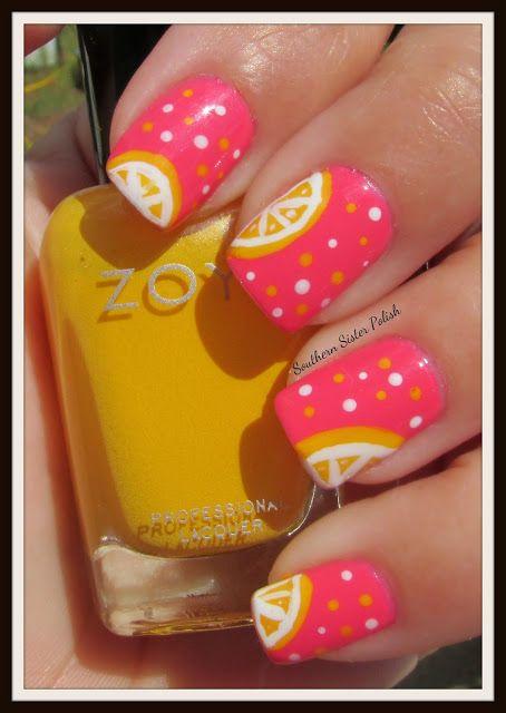 Southern Sister Polish: Pink Lemon-aide   #nail #nails #nailart