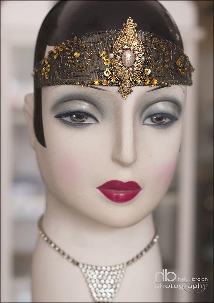 Headpieces - 1920 - styled by www.johns-vintage.com - Photo : www.heidibroich.com