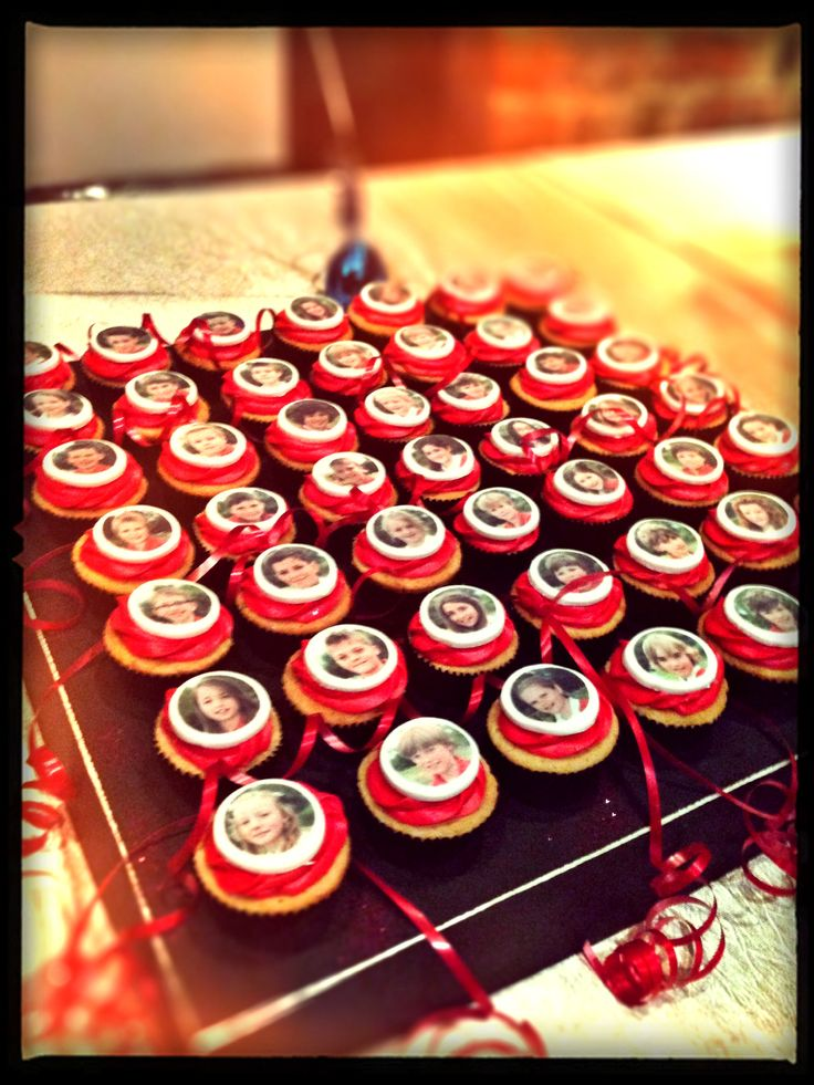 School Leavers Cupcakes for Disco Party