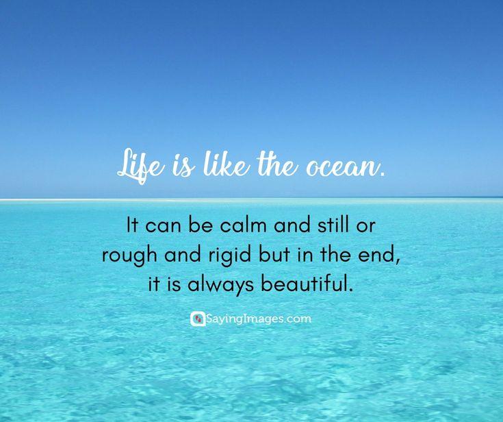 Life Is Like The Ocean Quotes: 244 Beste Afbeeldingen Van Quotes About Life
