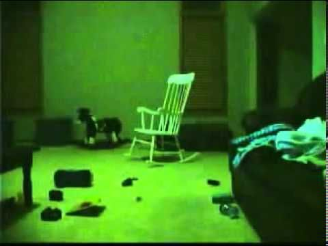 Rocking Chair Scary Pop Up! - YouTube  i like scary videos that scary me
