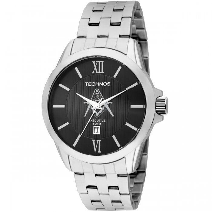 Relógio Technos Classic Executive Maçonaria 2115KNG/M1P - Compre Agora na ttime Relógios!
