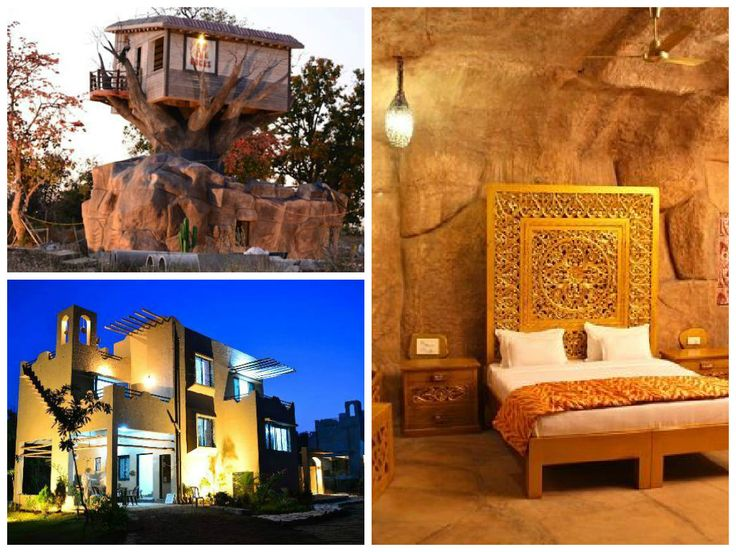 ~Tathastu Resort, Pench National Park~ Granted as you desire! A location like no other! Exclusive garden and barbeque facilities, a cottage which is not only amid forest, but rock like surroundings provide a native look. Its spacious property offers a youngsters' play area like none in the surrounding. A cluster of adventurous activities can be enjoyed at the location or in the surroundings, including cycling, sculling, wilderness safari and angling. ‪#‎madhyapradesh‬ ‪#‎pench‬…