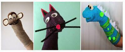 Μικρή Αγκαλιά: Κατασκευές Puppet - για την ανάπτυξη του λόγου