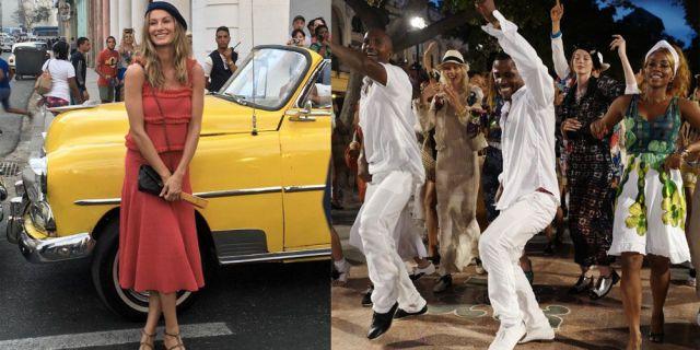 The Best Instagrams From Chanel's Cuba Show  - HarpersBAZAAR.com