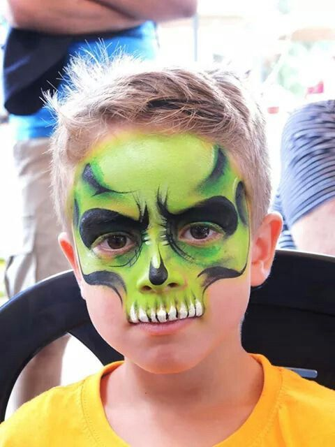 17 Best Ideas About Boys Face Painting On Pinterest Dinosaur Painting Superhero