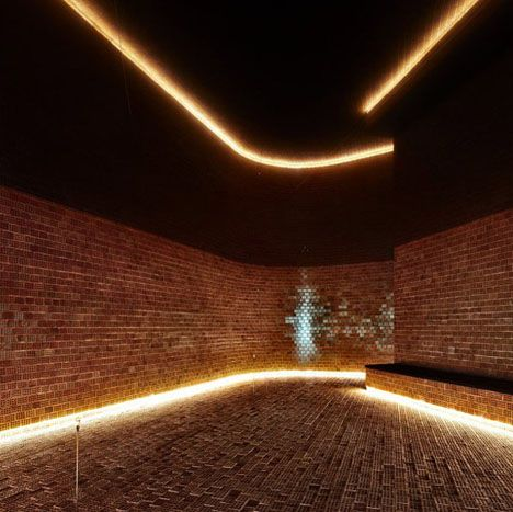 Science just keeps finding ways to make the most solid of materials suddenly permeable to light and/or sound- aluminum, wood, even concrete, but bricks beat them all by a long shot for sheer simplicity: all one has to do is turn them on their side! This curved-wall art installation by Mab Archit ...