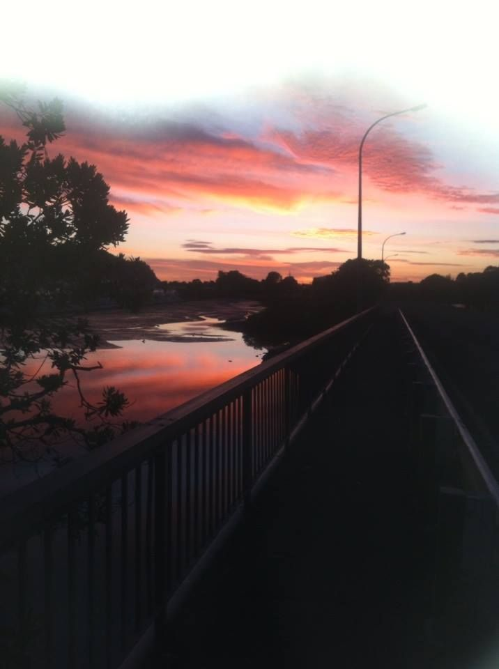 My mama took this photo this morning while doing her morning walk with a family friend. Just gorgeous, miss you whanga!