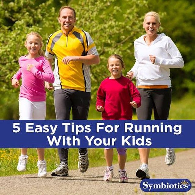 Here are five easy tips for running or working out with your kids: emoji️Run in different places, variety makes things more fun and less boring from children. Run in your neighborhood, at the park, at your local gym, or on a trail. Keep the experience new! emoji️Track your time. Keep a record of your time and watch as your family improves. emoji️Be open to keeping the experience playful. Chase your child, do a sprint race, make up a game. emoji️Offer a reward at the end. Keep it simple: a…