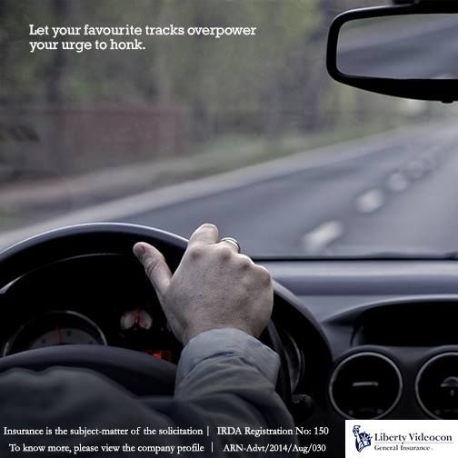 Here's the best tip to keep you off the horn. Listen to tunes that soothe you and have a calm drive #HornNotOkPlease