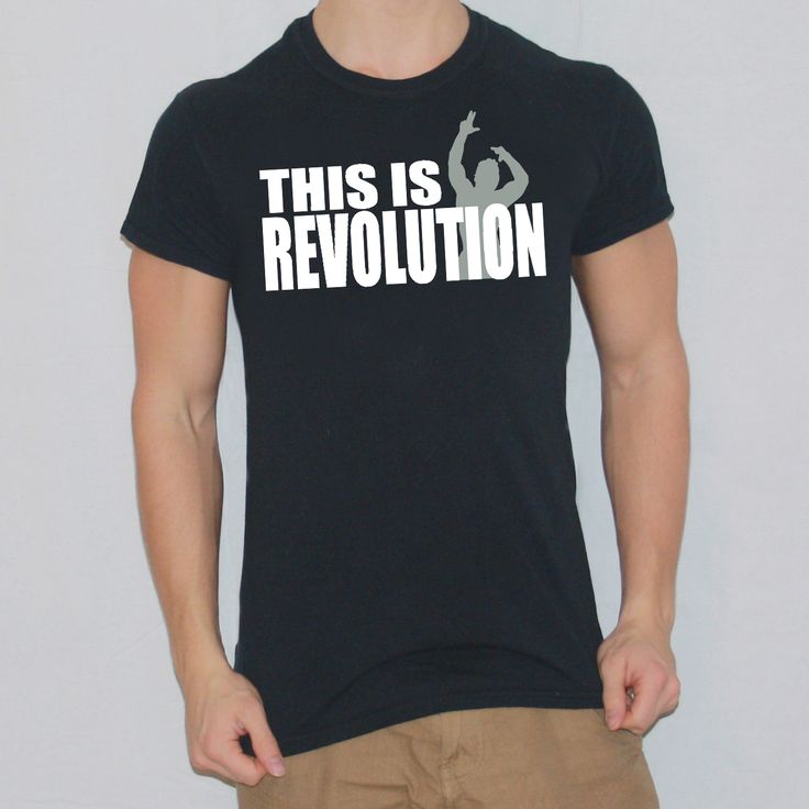 Zyzz Revolution T-shirt designed by Ripped Generation! #Zyzz #RippedGeneration #GymWear #GymApparel #ZyzzRevolution
