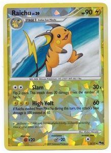 Pokemon Raichu 3/17 Rare Promo Single Card