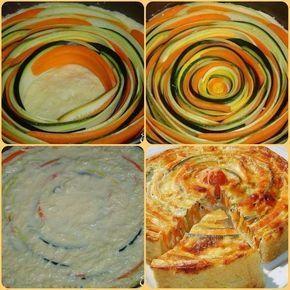 Овощной пирог / Живой лёд глобальных вопросов
